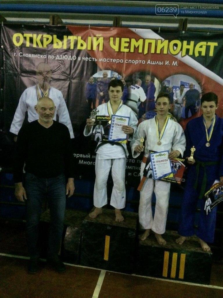 Мирноградские дзюдоисты успешно выступили на соревнованиях в Славянске , фото-2