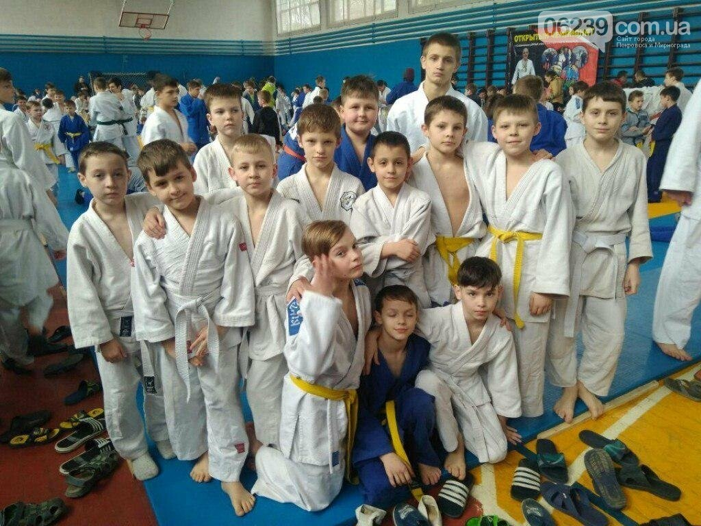 Мирноградские дзюдоисты успешно выступили на соревнованиях в Славянске , фото-3