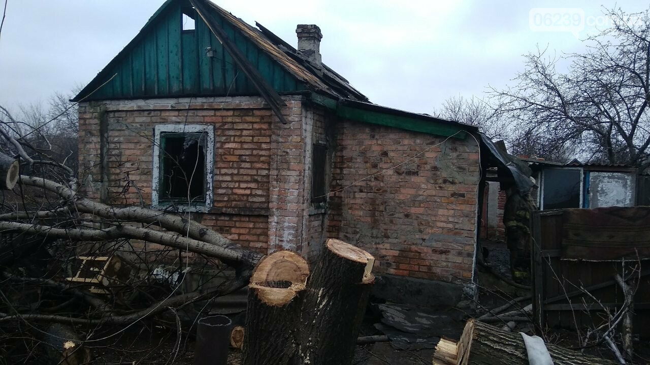 В Мирнограде в результате пожара погиб мужчина, фото-1
