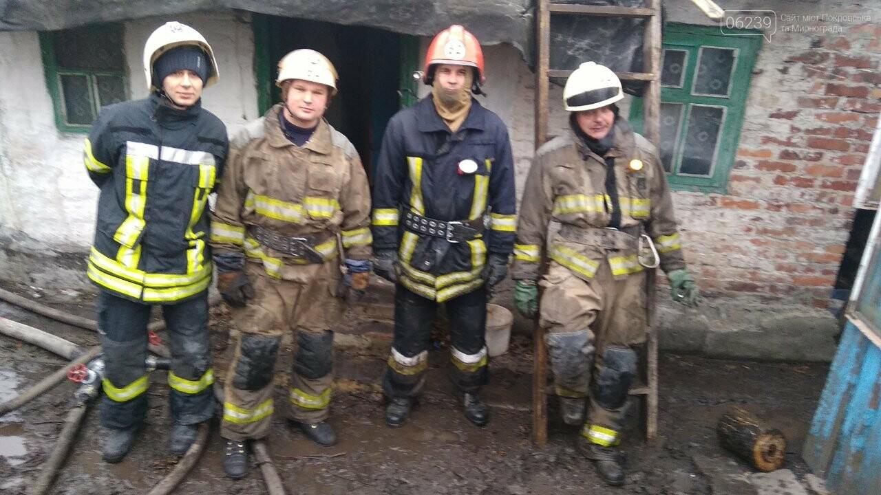 В Мирнограде в результате пожара погиб мужчина, фото-5