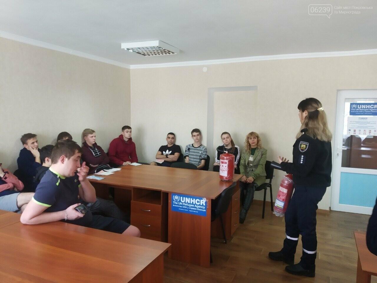 У Покровську рятувальники нагадали мешканцям гуртожитків правила пожежної безпеки, фото-2
