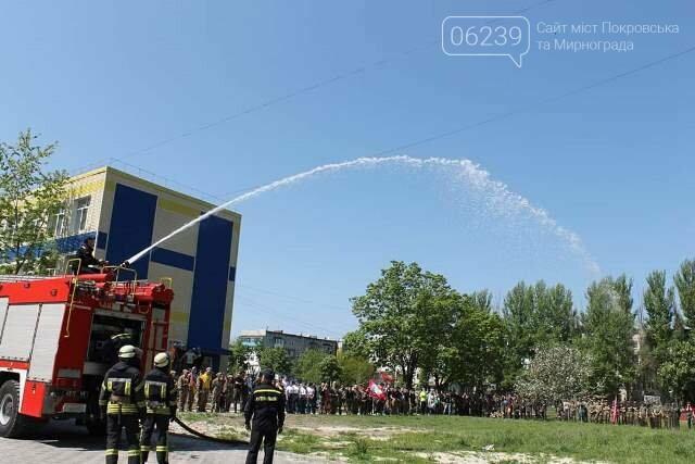 У Покровську рятувальники познайомили учасників гри «Джура» з особливостями роботи вогнеборців, фото-1