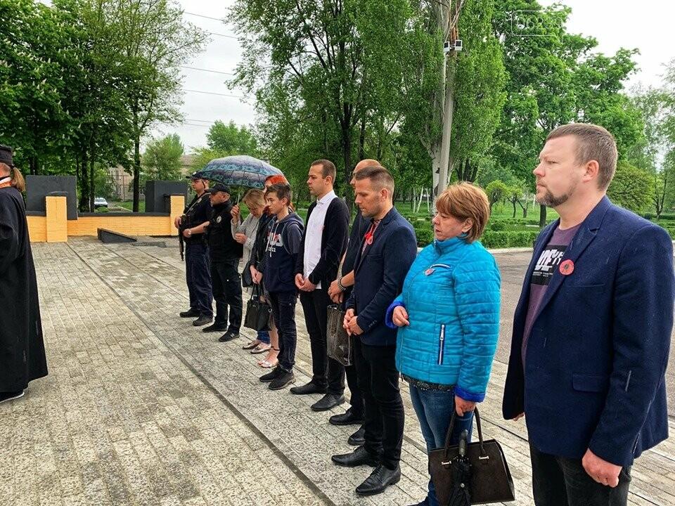У Мирнограді пройшла акція до Дня пам`яті та примирення, фото-10
