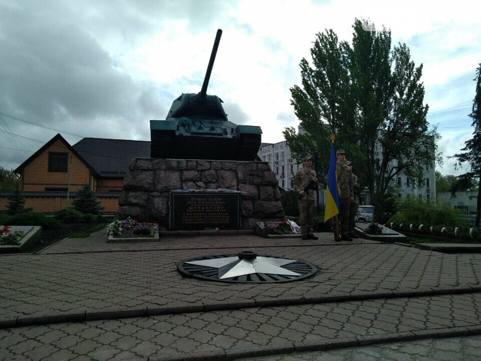 У Покровську пройшов мітинг присвячений до Дня Перемоги, фото-8