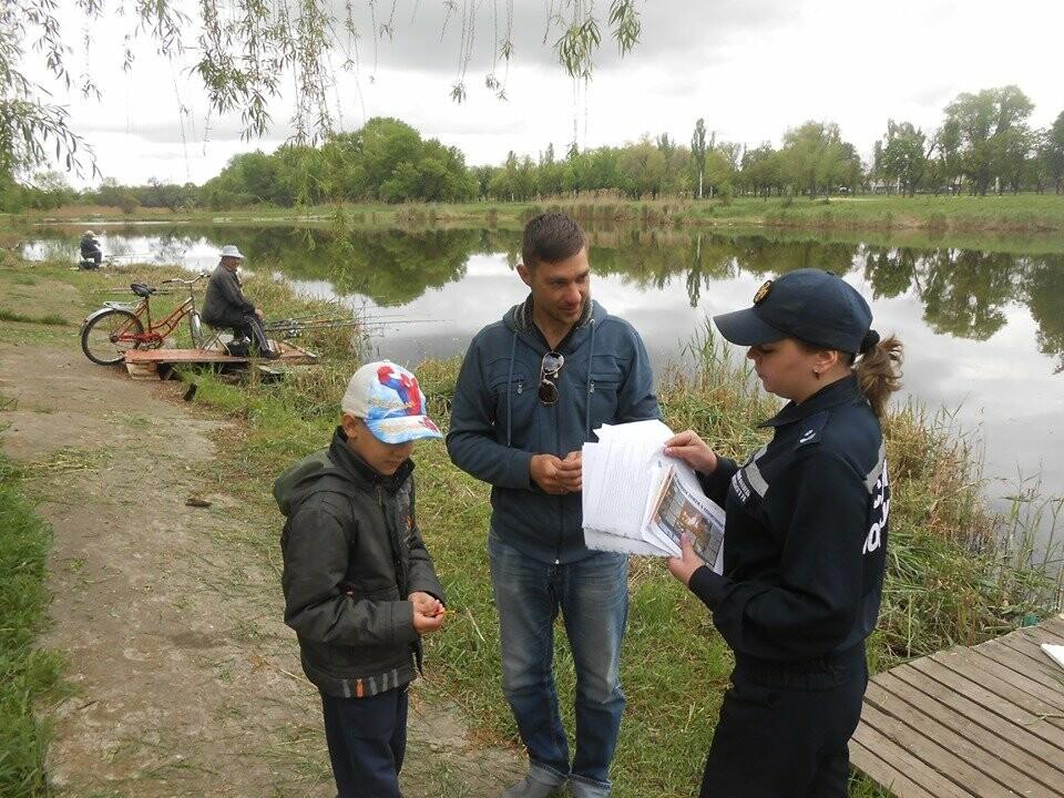 Фахівці ДСНС систематично проводять профілактичні рейди водоймами міста Покровськ та Покровського району, фото-2