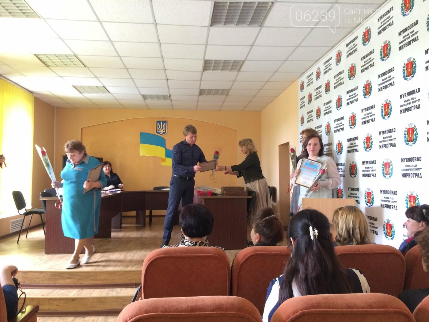 Мирноградских медсестёр поздравили с их Международным днём , фото-1