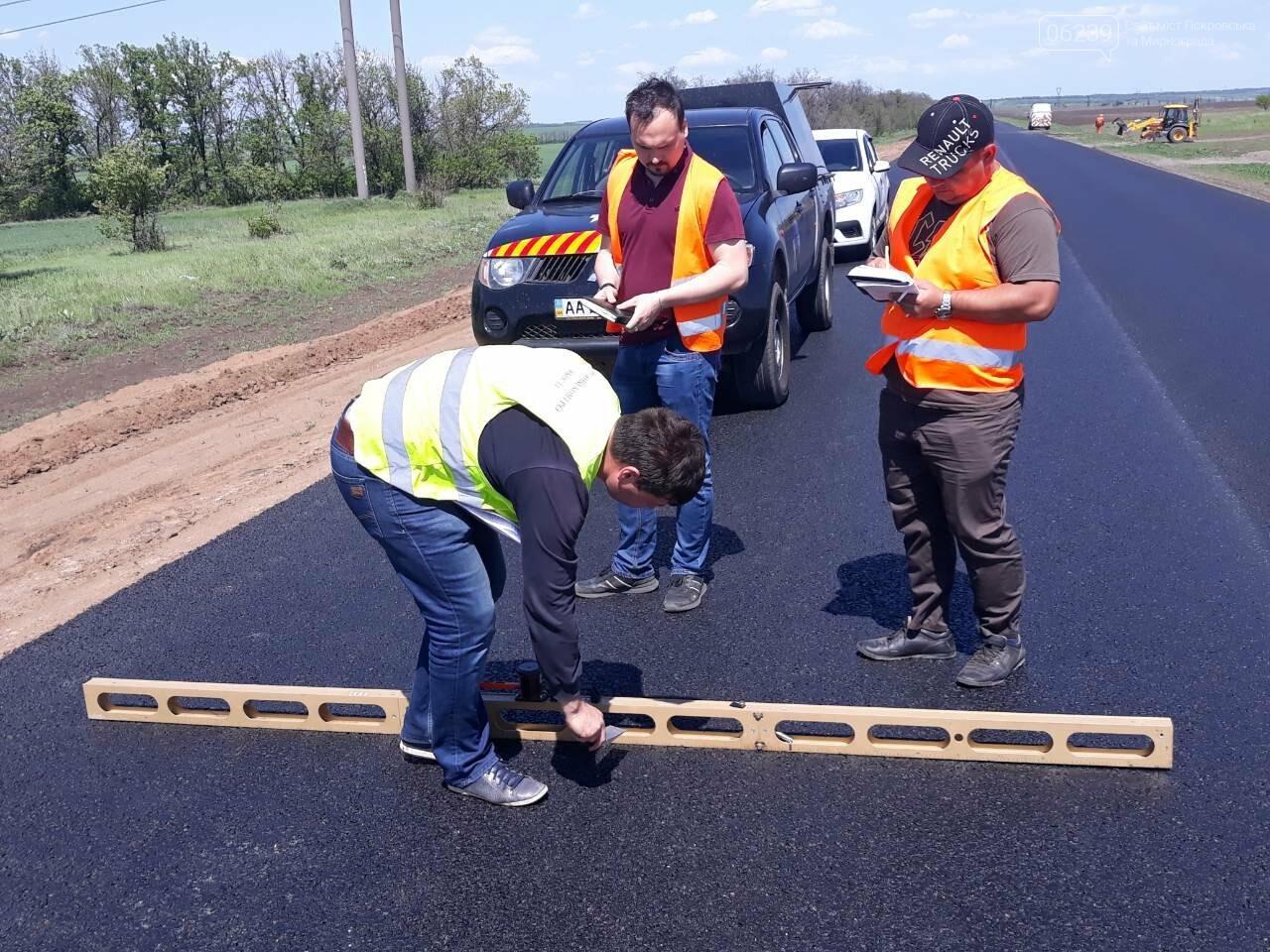 Безпека руху: між Мирноградом та Костянтинівкою відремонтовано 4 км національної траси Н-32, фото-2