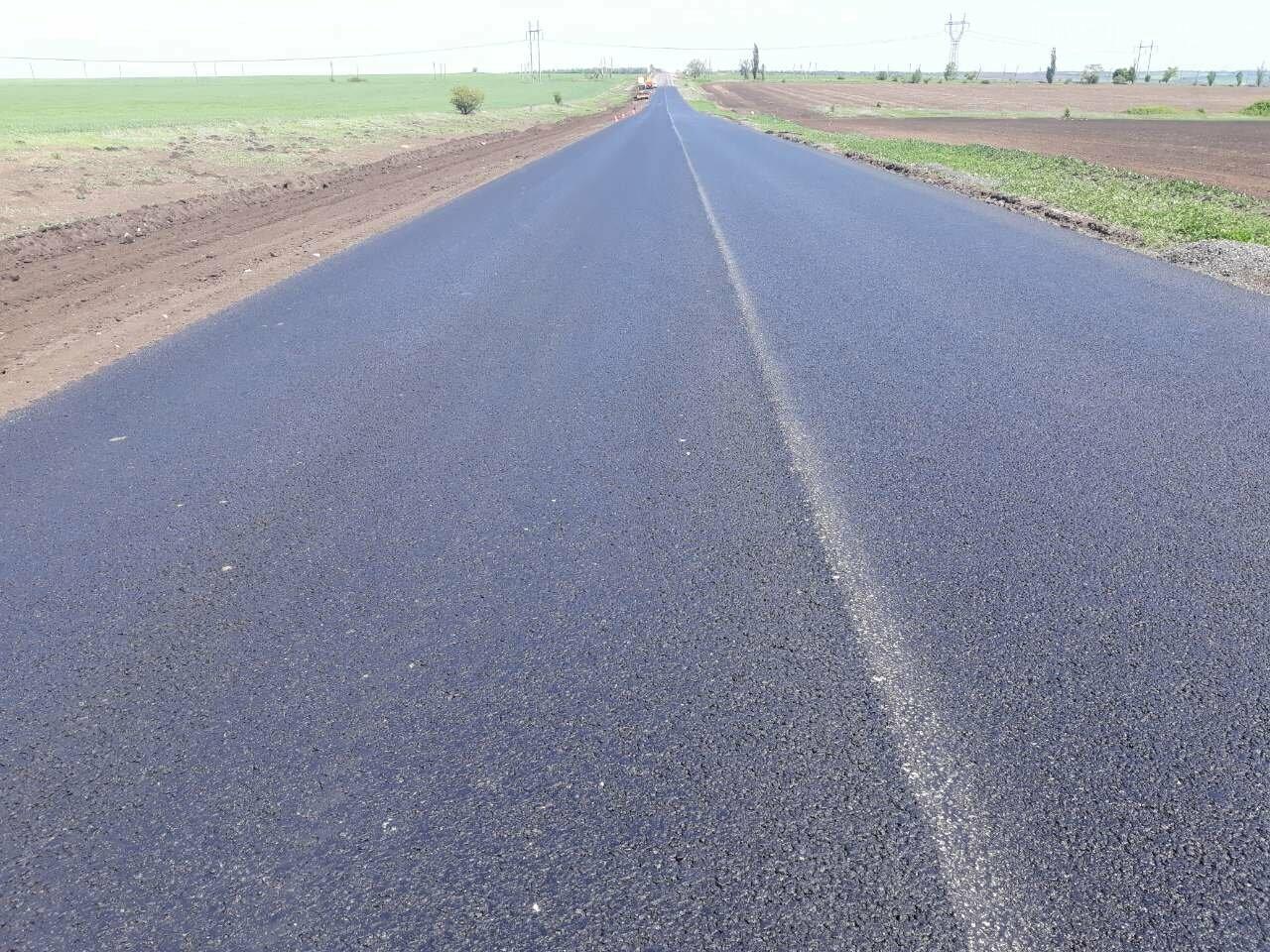 Безпека руху: між Мирноградом та Костянтинівкою відремонтовано 4 км національної траси Н-32, фото-3