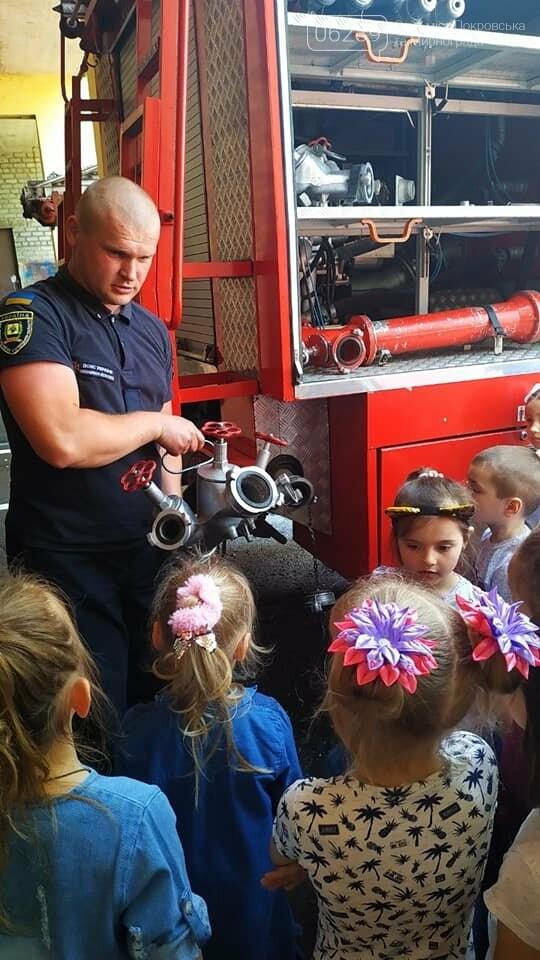 До рятувальників Мирнограда завітала малеча на пізнавальну екскурсію, фото-2