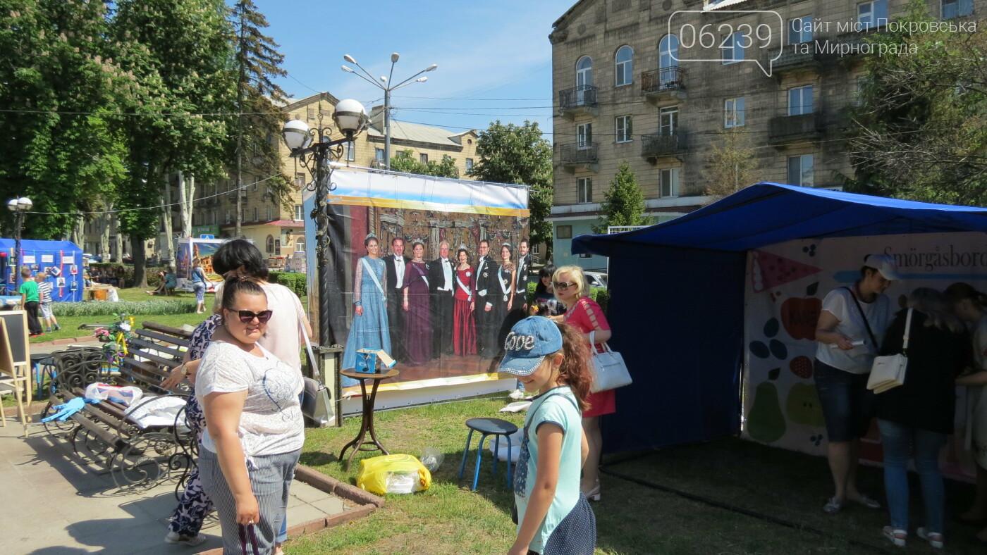 В Покровске на площади Шибанкова проходит празднование Дня Европы, фото-3