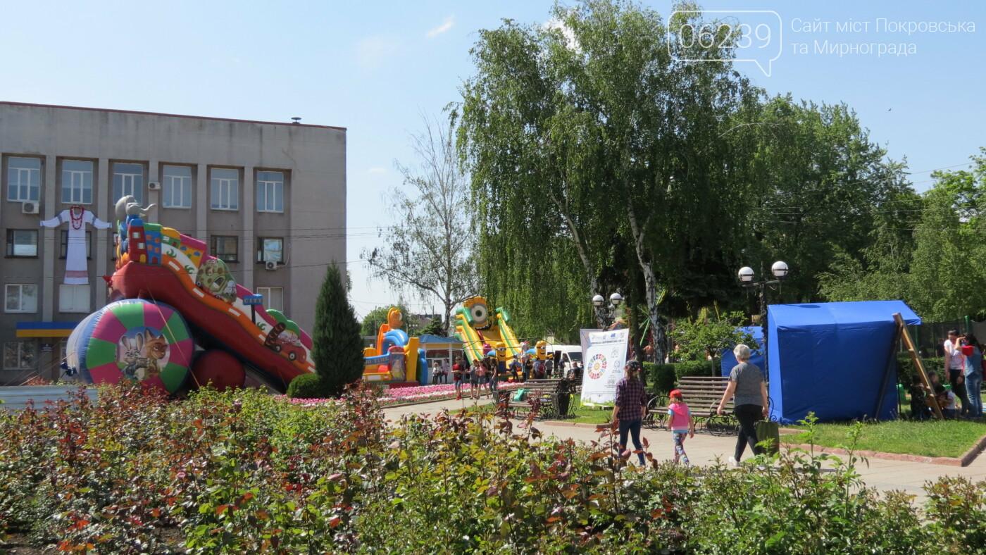 В Покровске на площади Шибанкова проходит празднование Дня Европы, фото-4