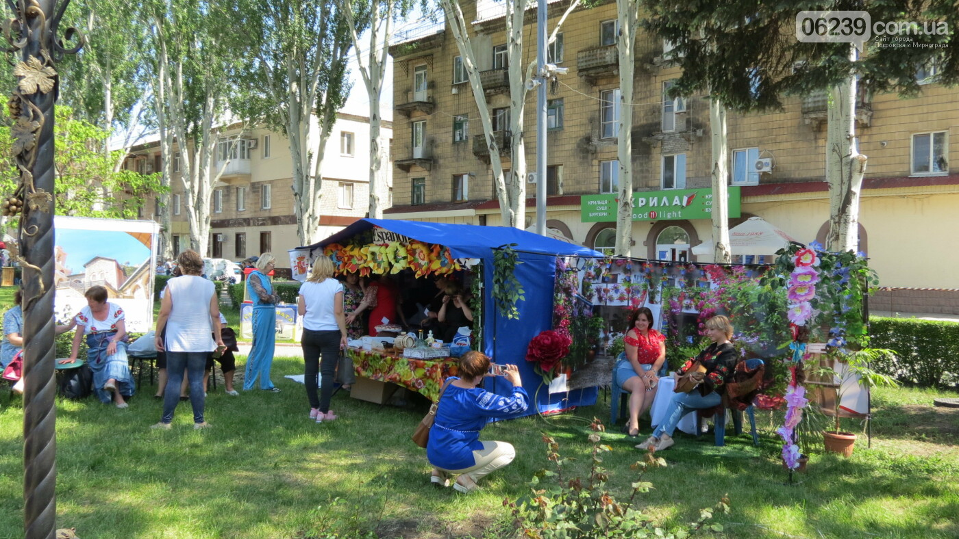 В Покровске на площади Шибанкова проходит празднование Дня Европы, фото-11