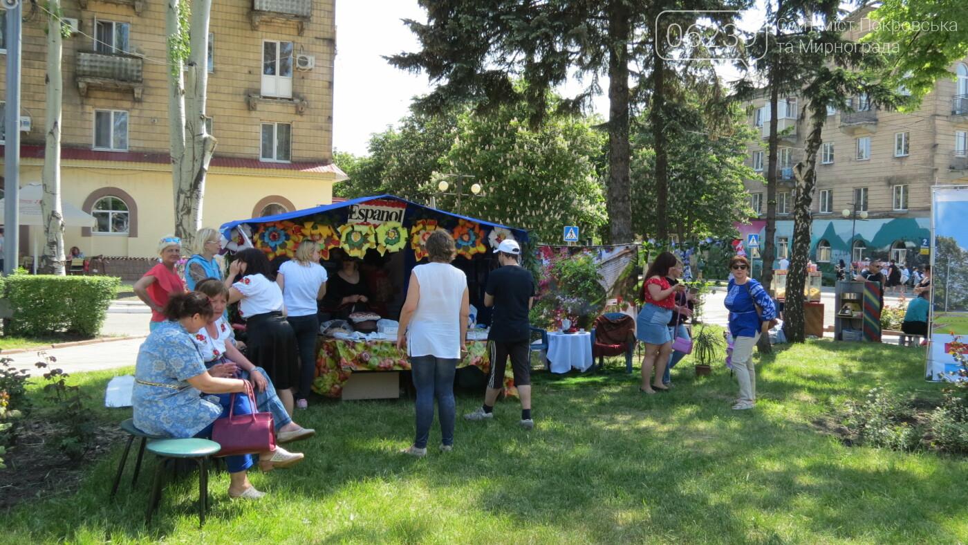 В Покровске на площади Шибанкова проходит празднование Дня Европы, фото-12