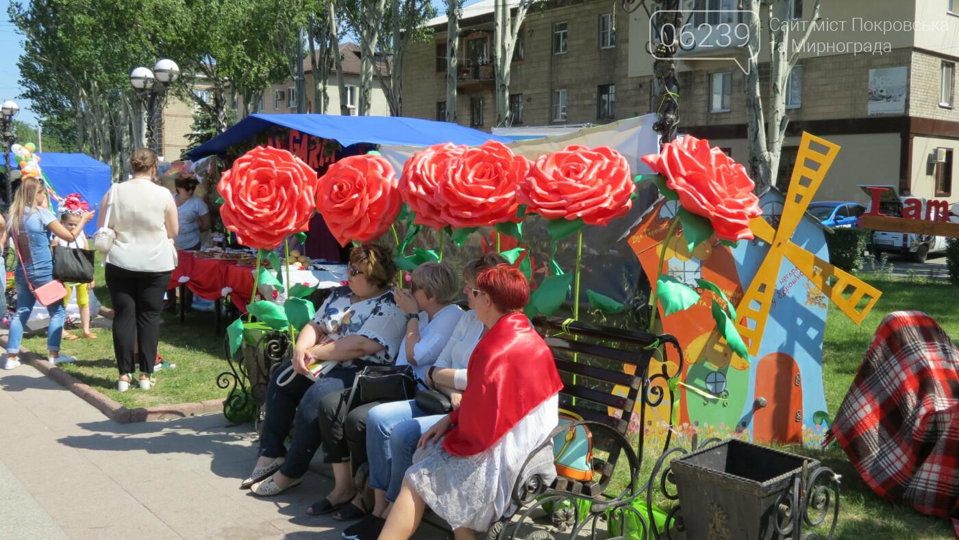 В Покровске на площади Шибанкова проходит празднование Дня Европы, фото-15