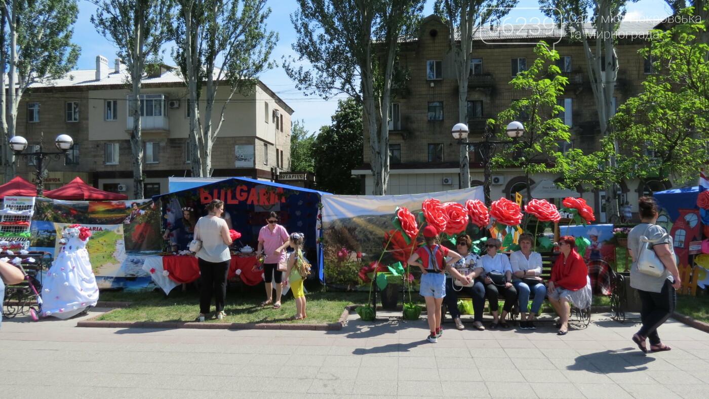 В Покровске на площади Шибанкова проходит празднование Дня Европы, фото-19