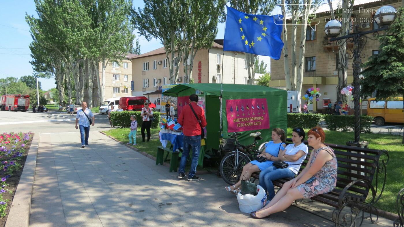 В Покровске на площади Шибанкова проходит празднование Дня Европы, фото-22