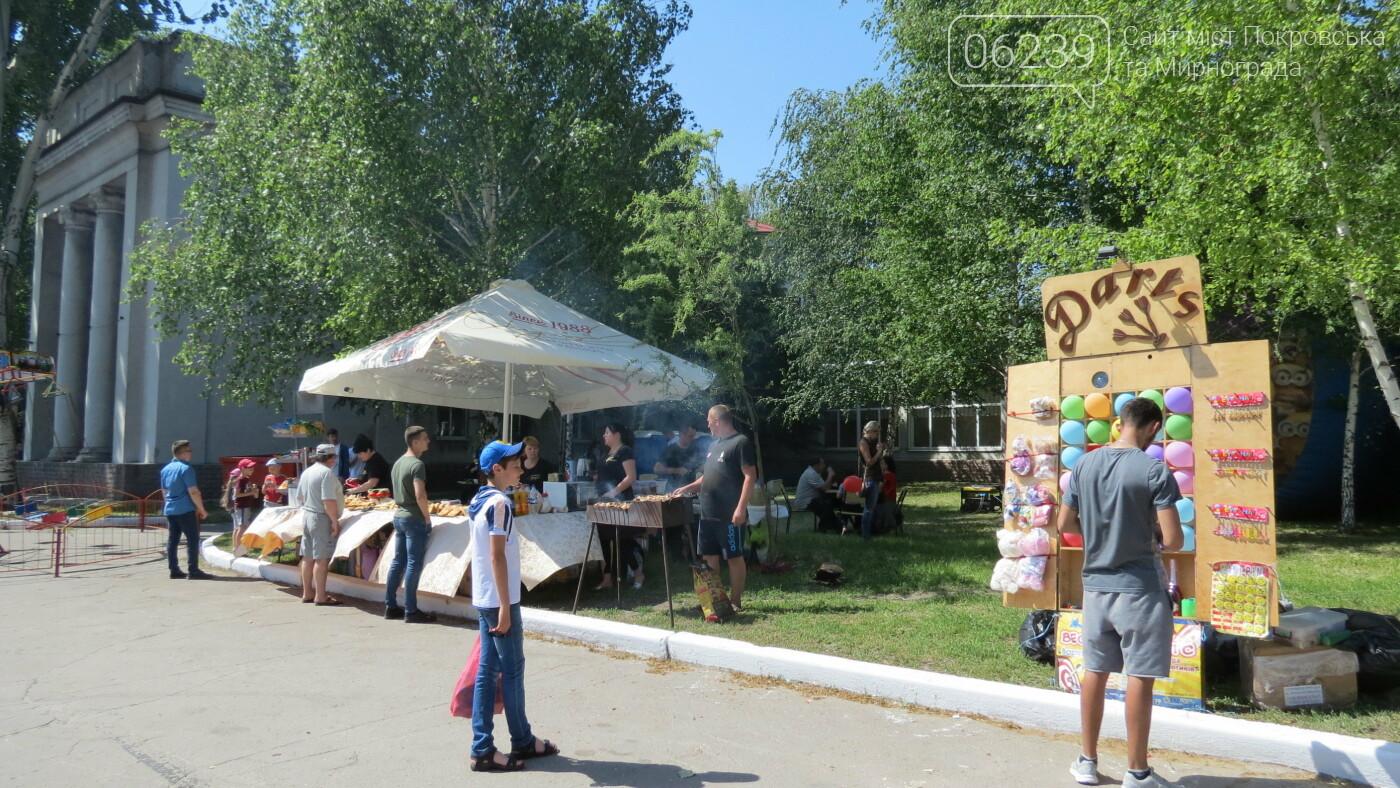 В Покровске на площади Шибанкова проходит празднование Дня Европы, фото-30