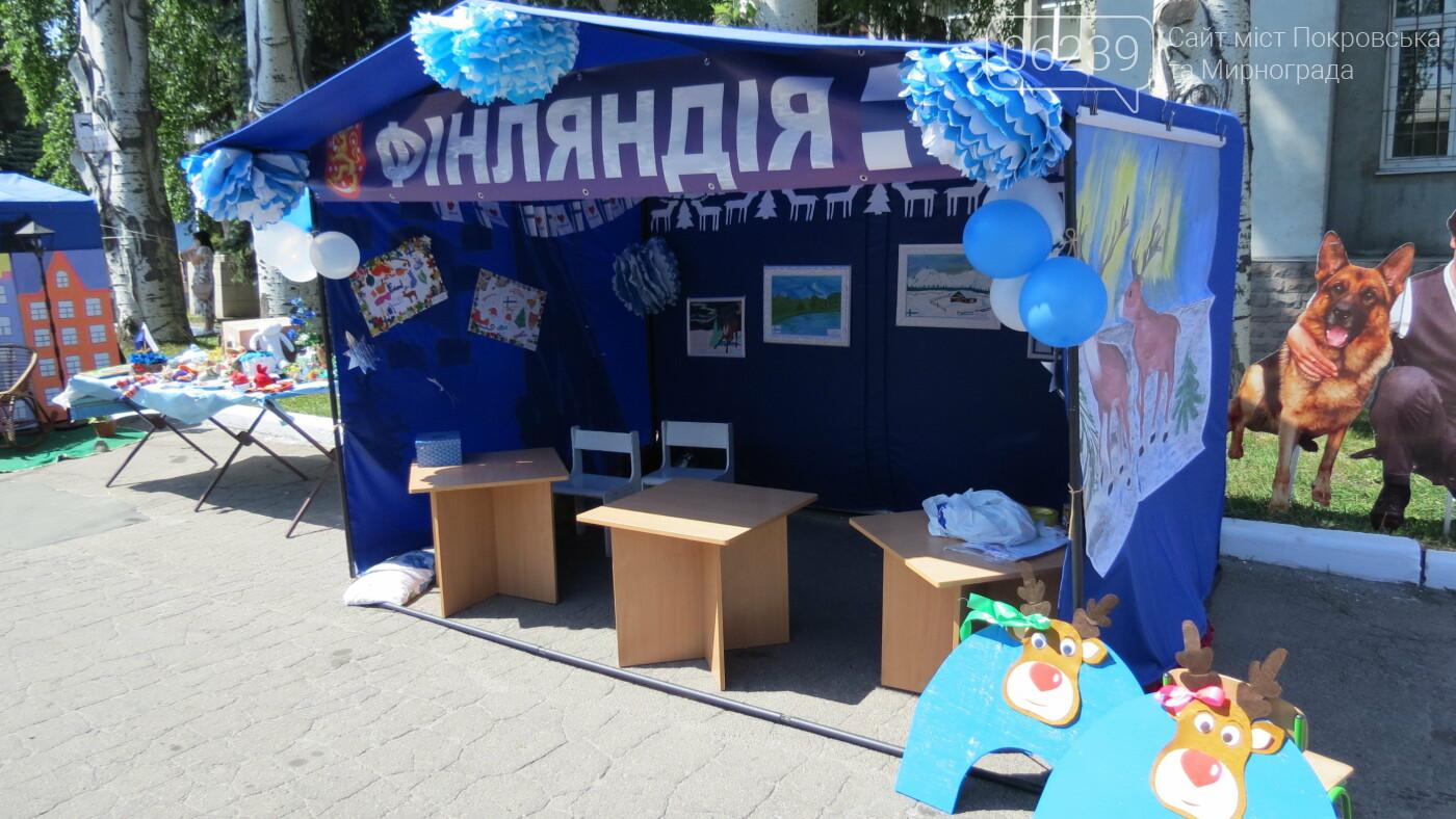 В Покровске на площади Шибанкова проходит празднование Дня Европы, фото-26