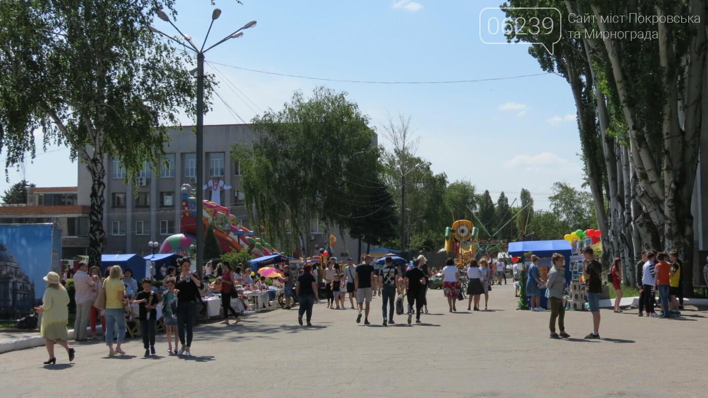 В Покровске на площади Шибанкова проходит празднование Дня Европы, фото-35