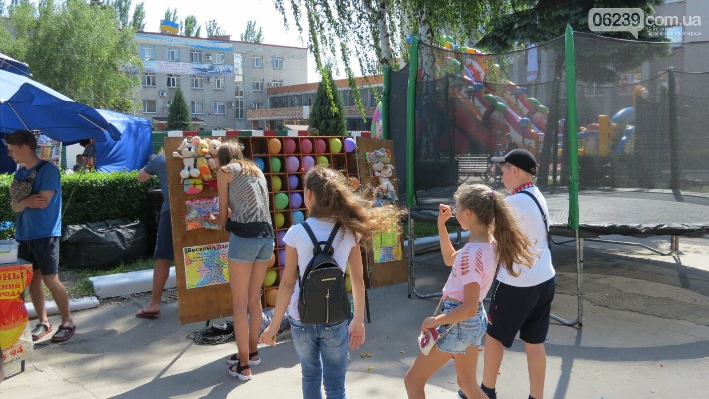 В Покровске на площади Шибанкова проходит празднование Дня Европы, фото-37