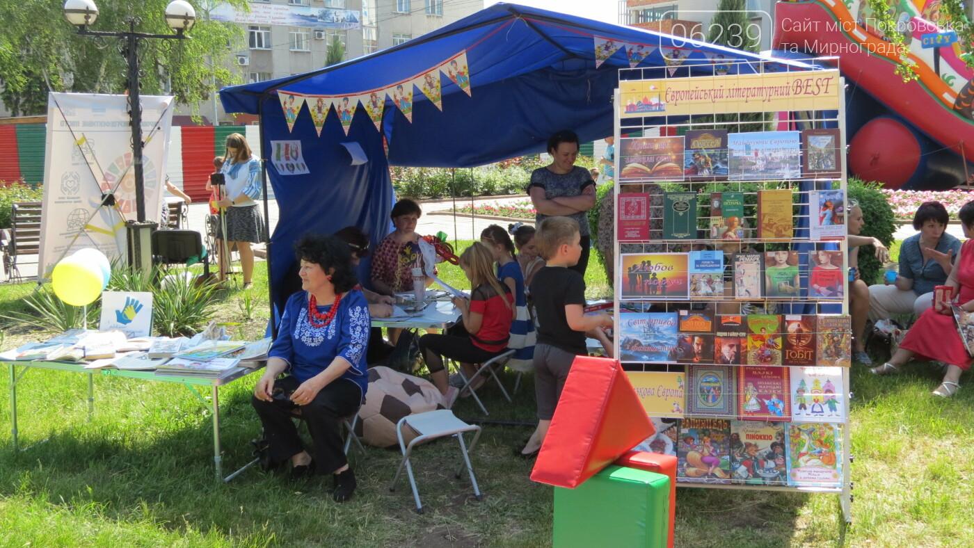 В Покровске на площади Шибанкова проходит празднование Дня Европы, фото-36