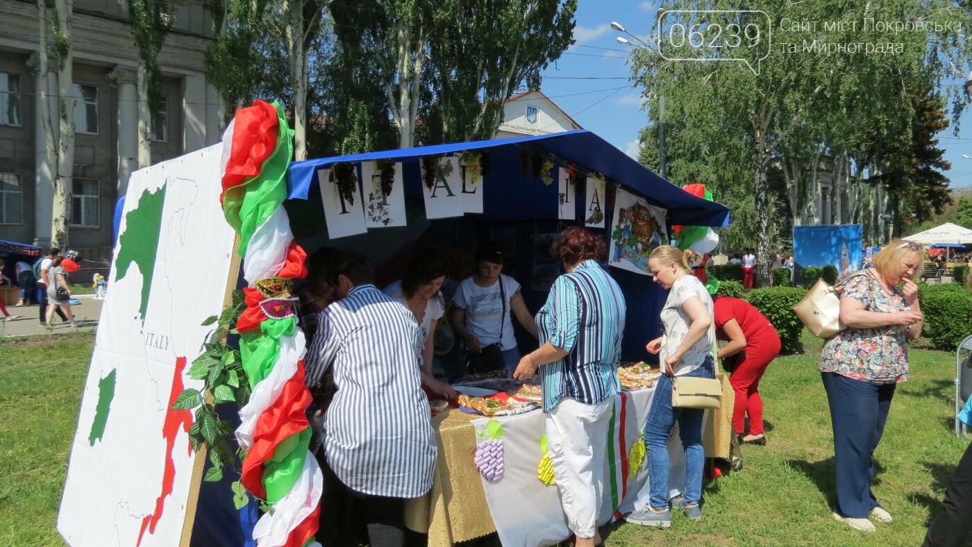 В Покровске на площади Шибанкова проходит празднование Дня Европы, фото-49