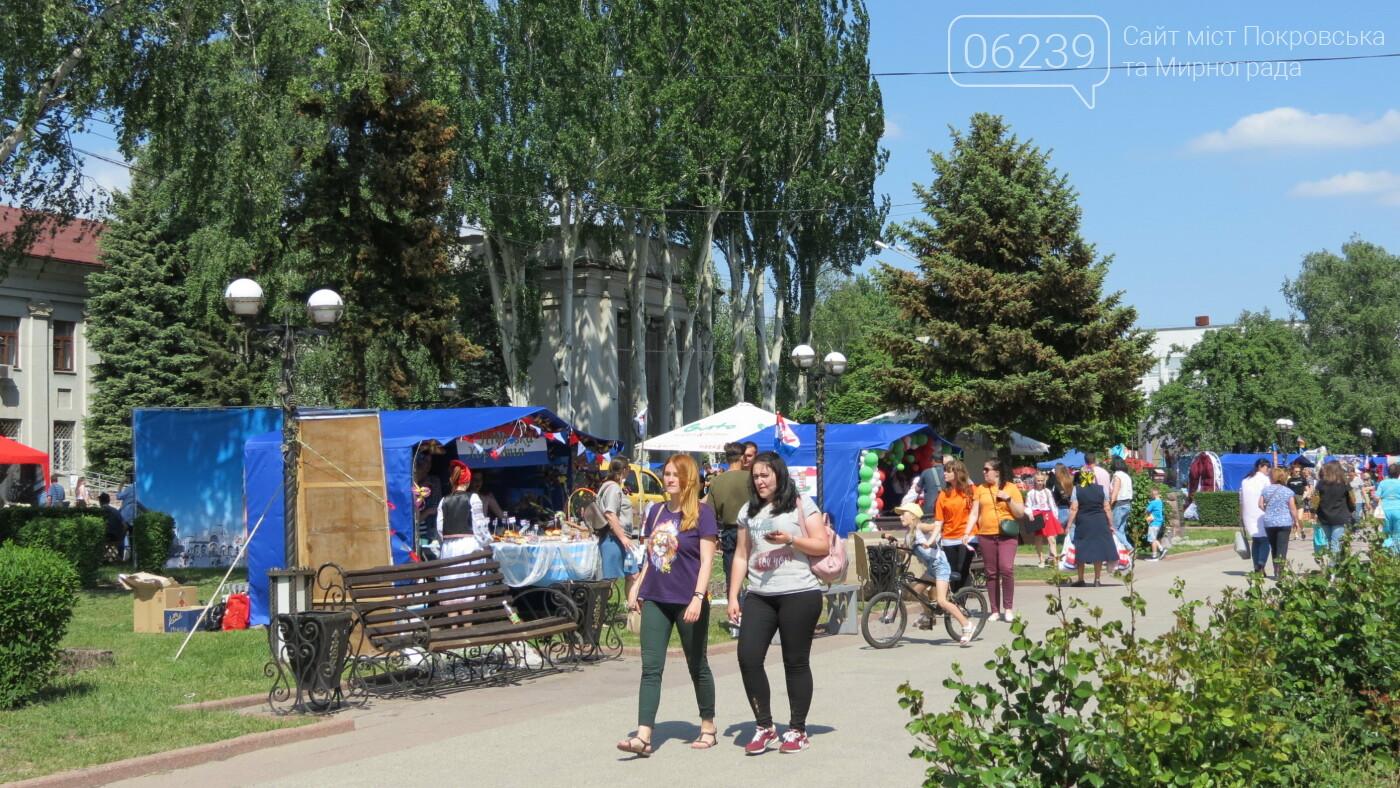 В Покровске на площади Шибанкова проходит празднование Дня Европы, фото-48