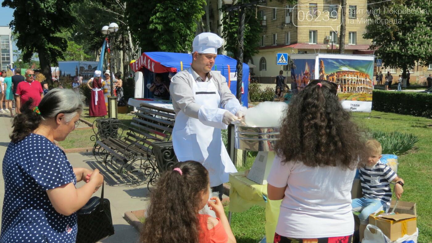 В Покровске на площади Шибанкова проходит празднование Дня Европы, фото-43