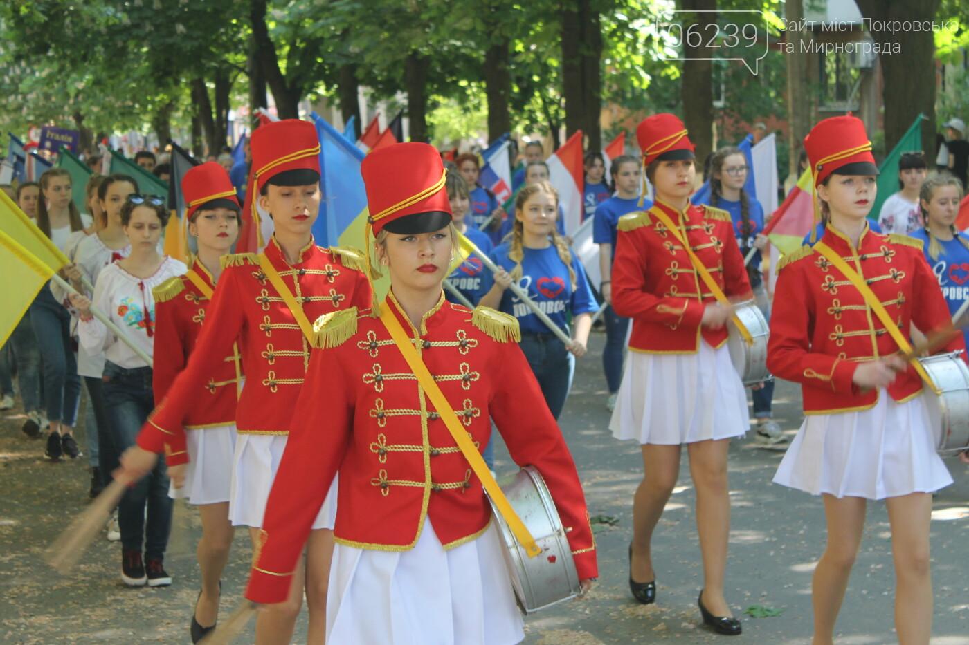 В Покровске День Европы отметили шествием, фото-2