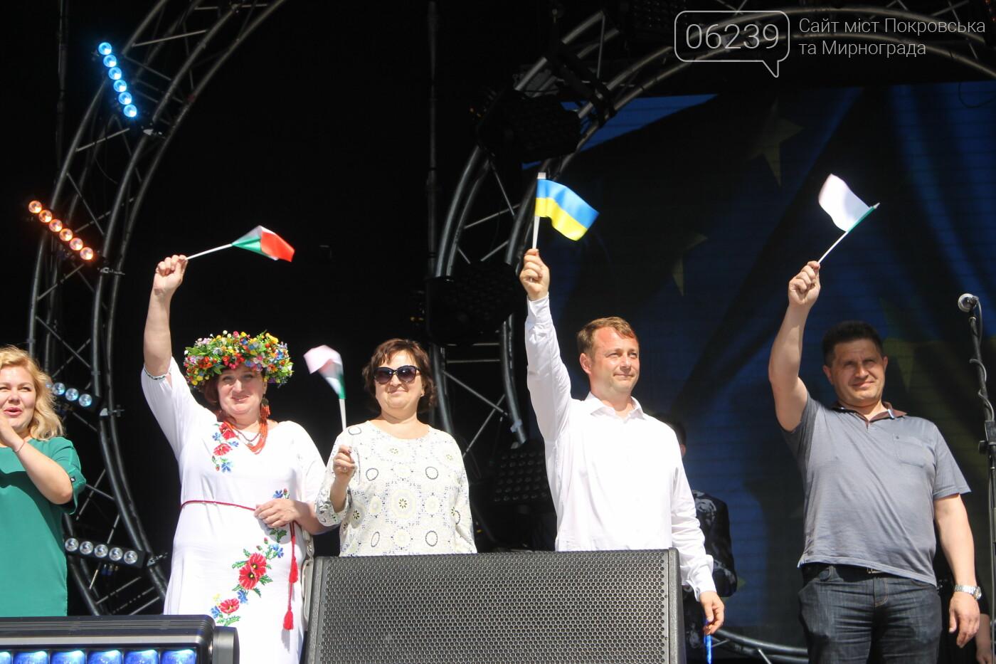 Руслан Требушкин поздравил покровчан и гостей города с Днем Европы, фото-6