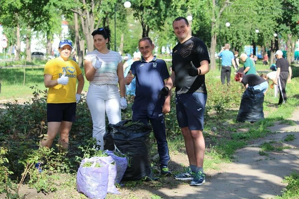 В Покровске провели очередной субботник, фото-3