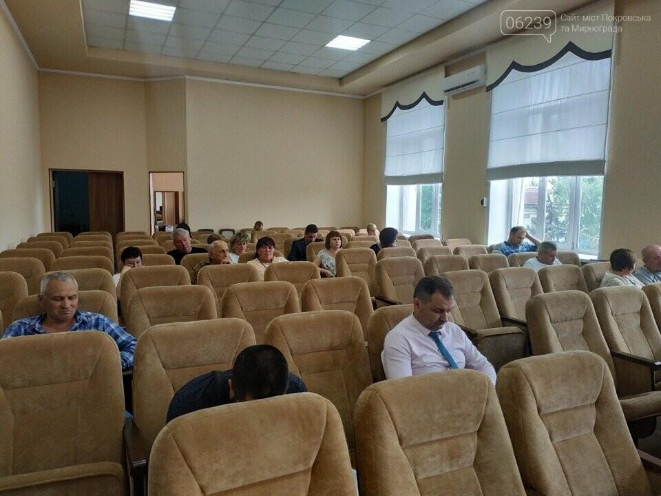 Традиционное опоздание: Сессия горсовета Покровска никак не начнётся, фото-3