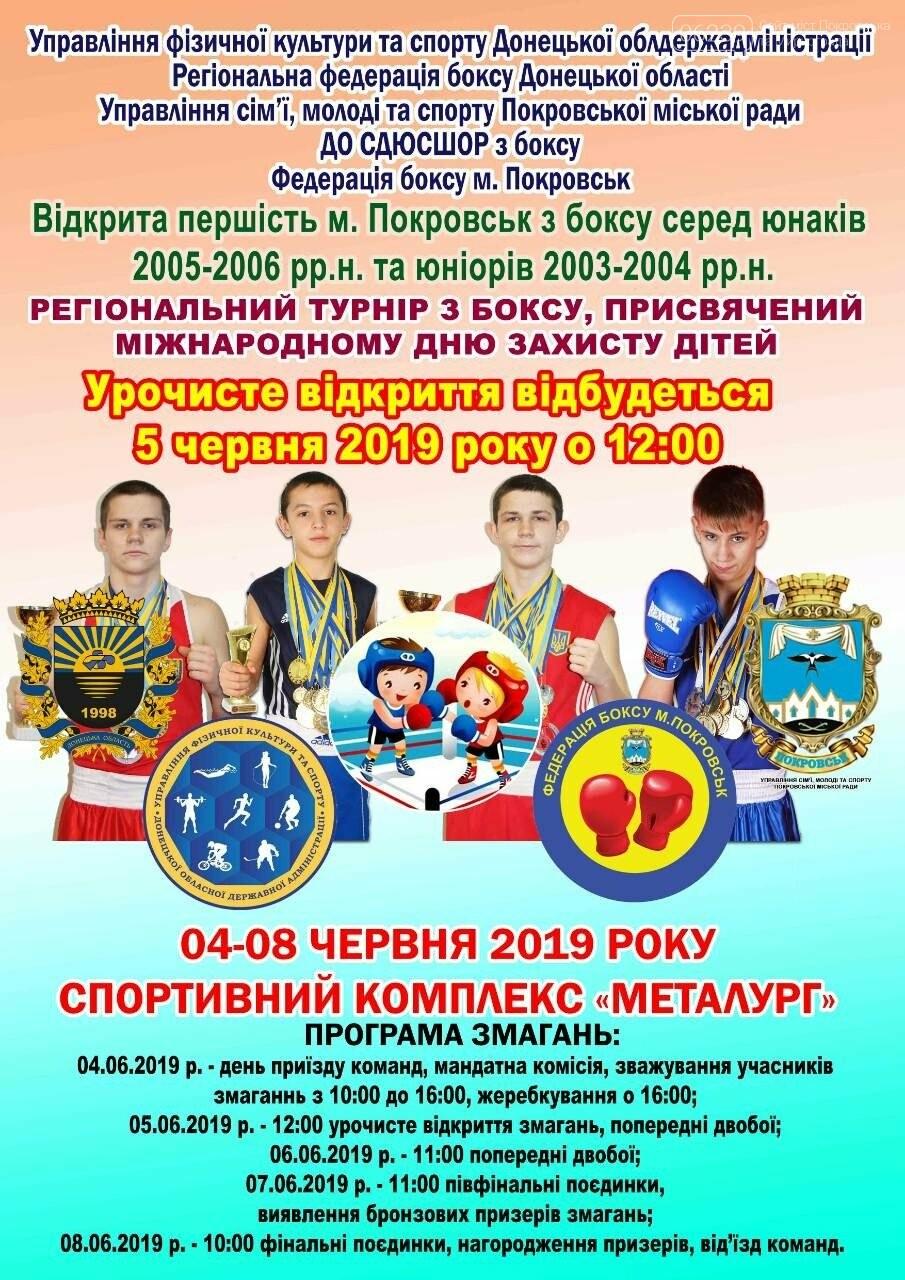 У Покровську відбудеться регіональний турнір з боксу, фото-1