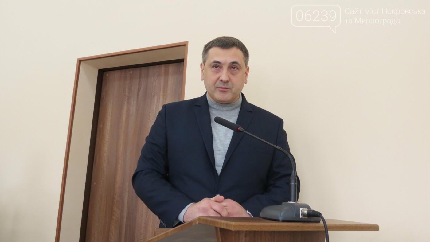 У Покровську суд розглядає позов Сергія Шутько про поновлення на посаді, фото-1