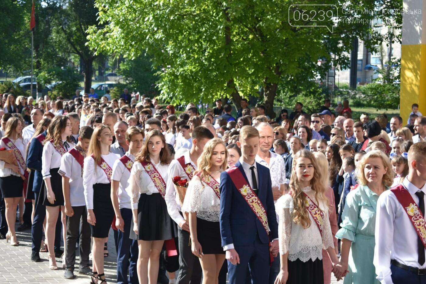 Сегодня в школах Мирнограда прозвучал последний звонок (фото со всех школ города) , фото-1