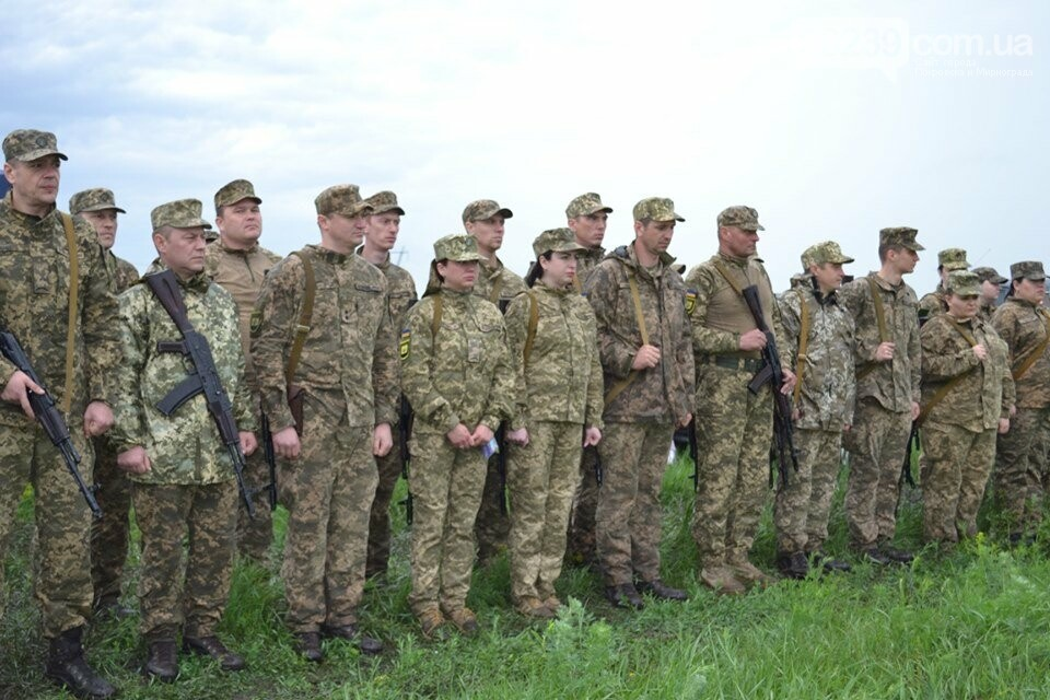 У Покровсько-Ясинуватському ОМВК було проведено єдиний стрілецький день, фото-4