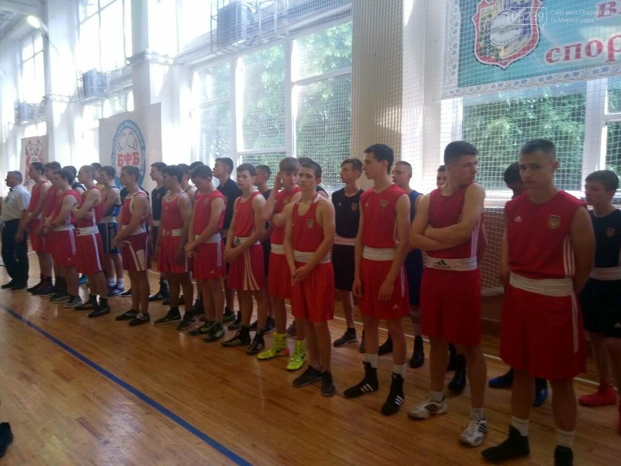 Учні ЗОШ №4 Покровська гідно виступили на Чемпіонаті України з боксу, фото-1
