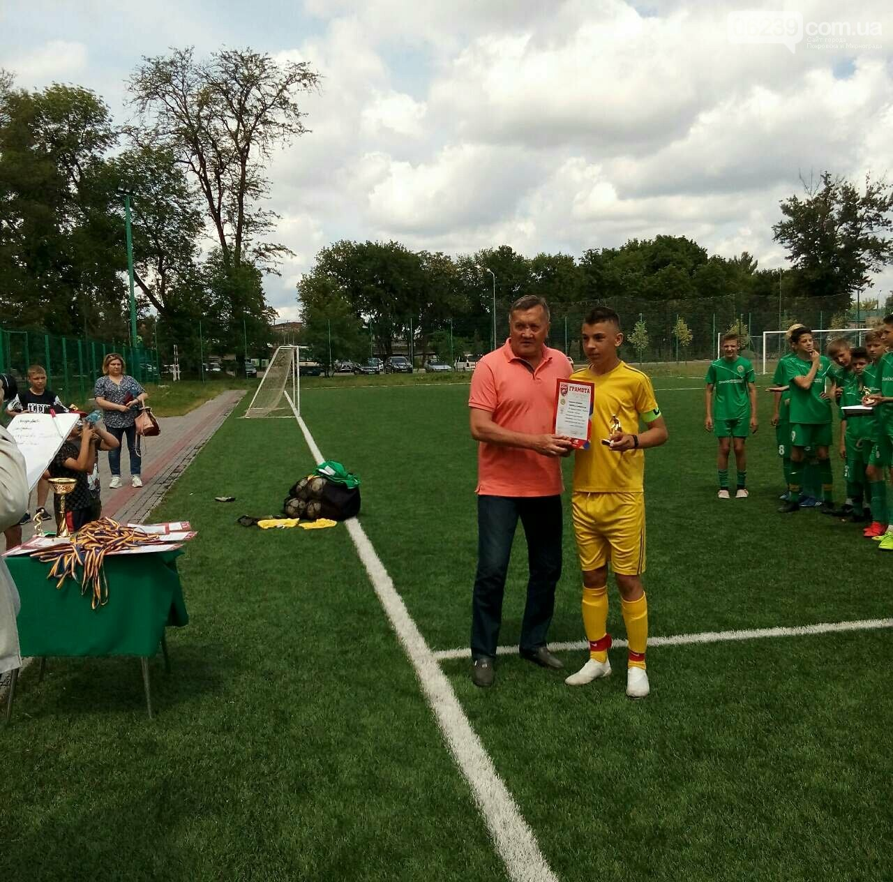 Футбольная команда из Мирнограда представит Донецкую область на Всеукраинских соревнованиях , фото-2