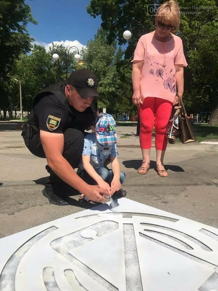 Предупредительные надписи появились перед пешеходными переходами в Покровске, фото-5