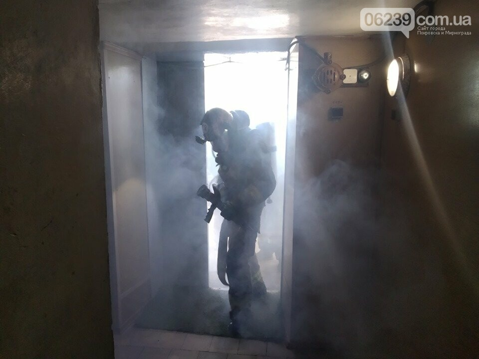 Мирноградский ГорОО в дыму: что горит, фото-3