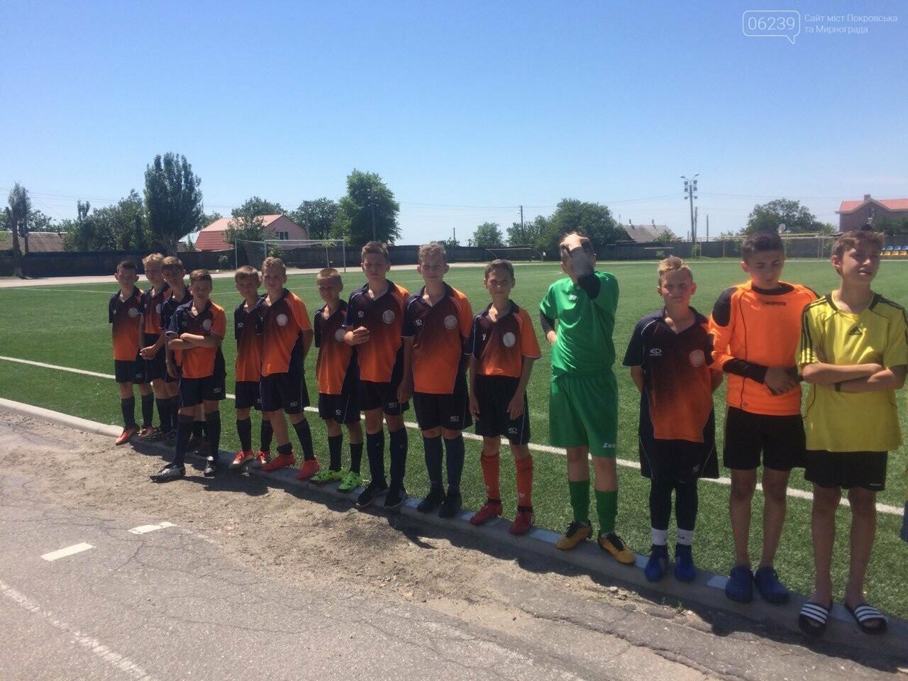 Спортсмены из Покровска заняли призовое место в соревнованиях по футболу, фото-1