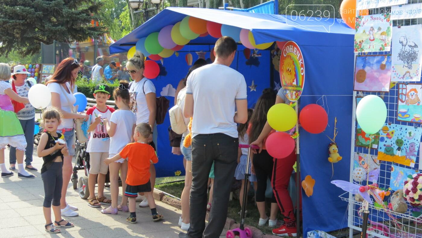 Покровск ярко и зажигательно отмечает День защиты детей, фото-49
