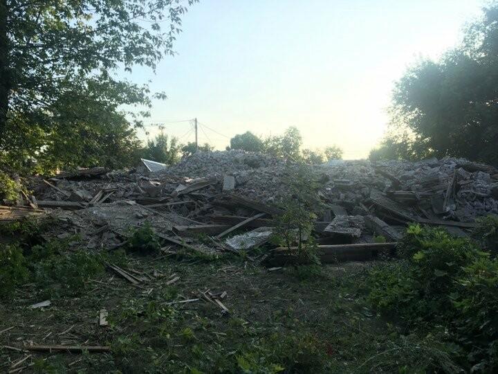 В Родинском снесли еще одно аварийное здание, фото-3