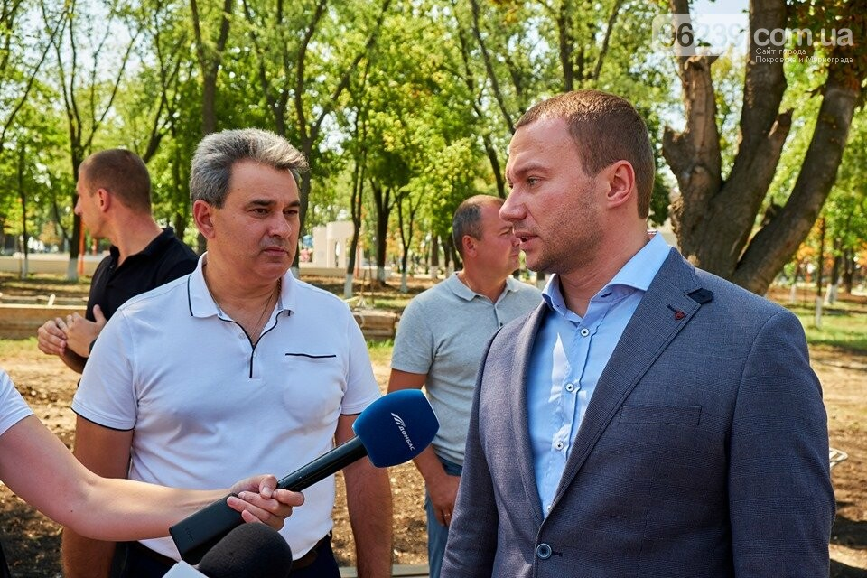 Губернатор порадив упорядкувати територію парка навколо водойми у Покровську, фото-1