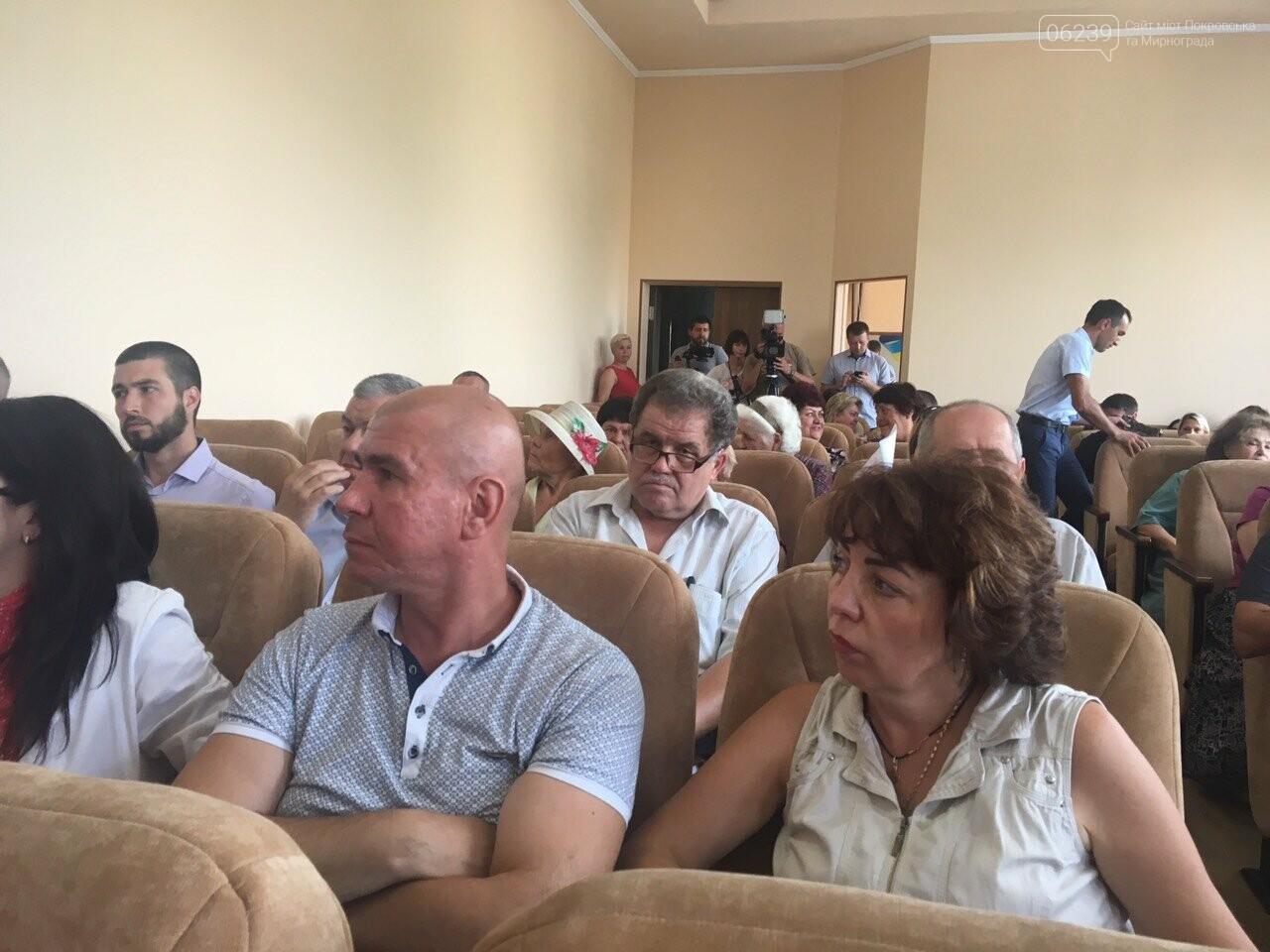 В Покровске началась внеочередная сессия горсовета, фото-1