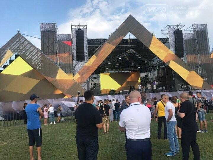 В Покровске на стадионе Юность началось празднование Дня шахтёра, фото-5