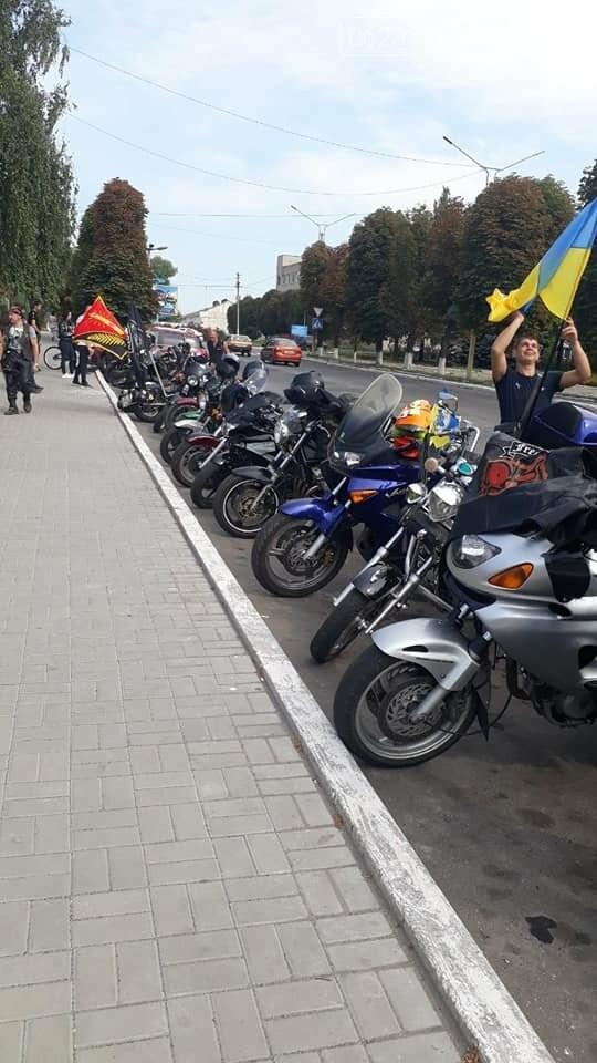 В Мирнограде массовым мотопробегом отметили День Независимости Украины, фото-6