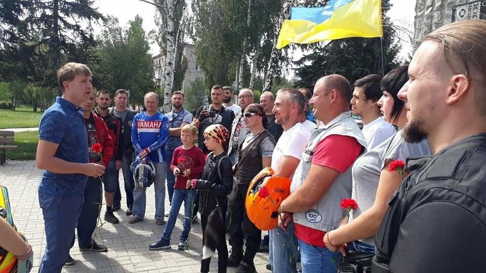 В Мирнограде массовым мотопробегом отметили День Независимости Украины, фото-7
