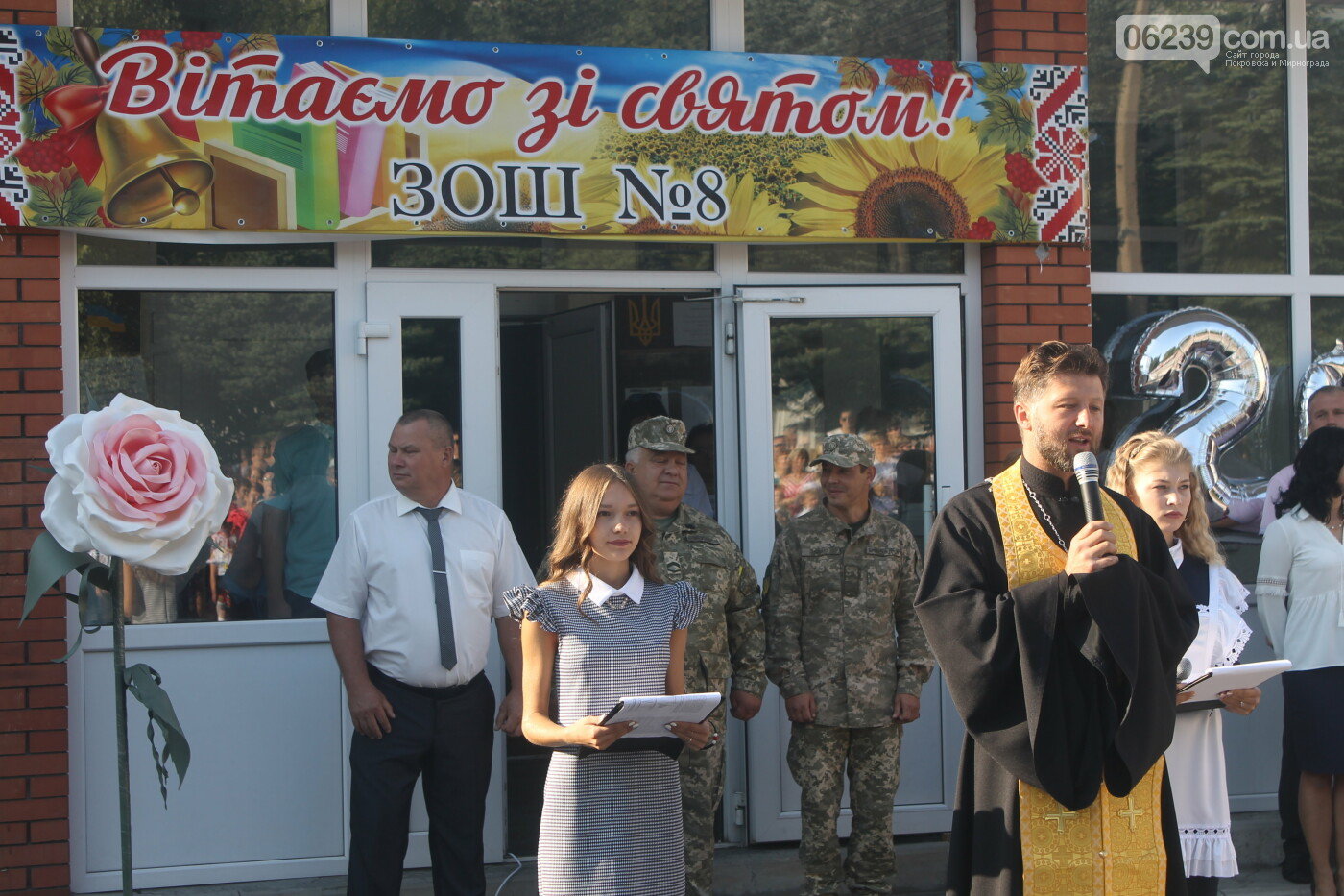 Праздник Первого звонка состоялся во всех учебных заведениях Родинского, фото-32