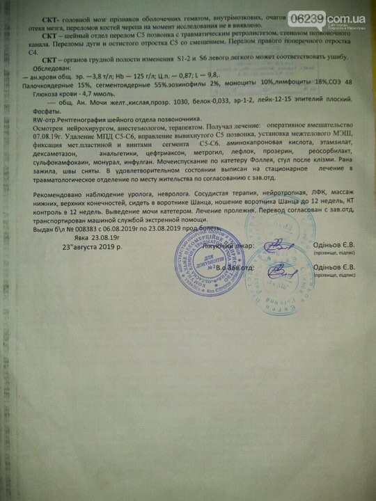 Пострадавший в ДТП житель Доброполья нуждается в помощи, фото-2